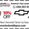 Save 10% On All Chevrolet Tahoe Key Replacements!