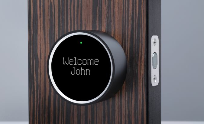 Goji Smart Lock, The Smartphone Activated Keyless Entry Door Lock