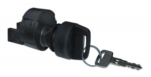 black ignition switch for car